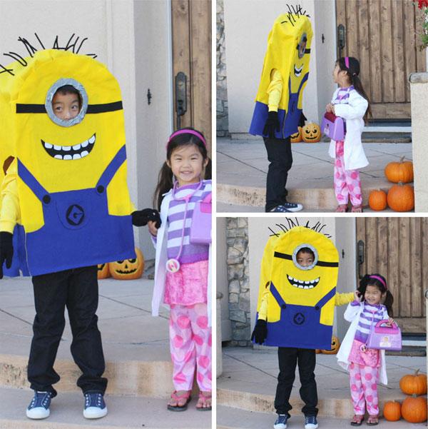 Come creare un costume da Minions fai da te per bambini