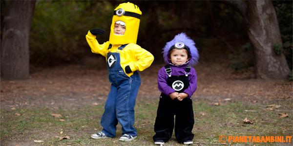 Come creare i costumi dei Minions fai da te per bambini
