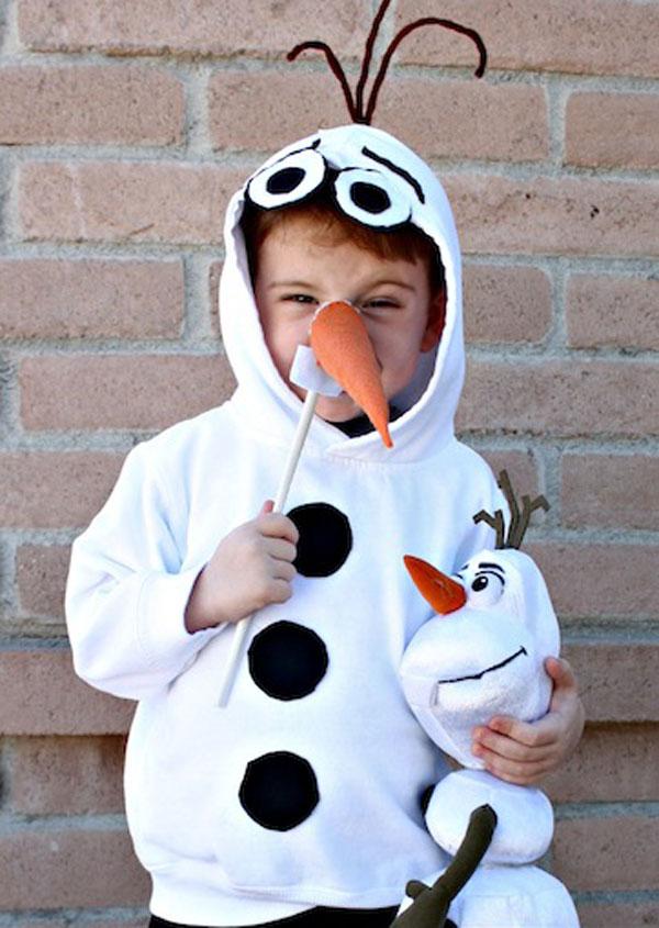 Come creare un costume di Olaf fai da te per bambini