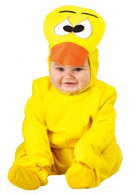 Costume di Halloween da papero per neonati