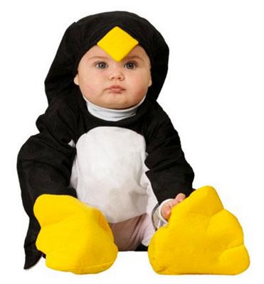 Costume di Halloween da pinguino per neonati