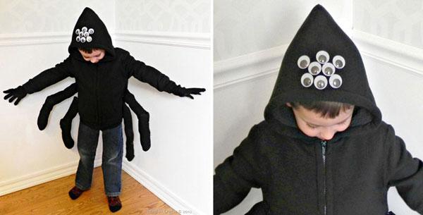 Come creare un costume da ragno fai da te per bambini