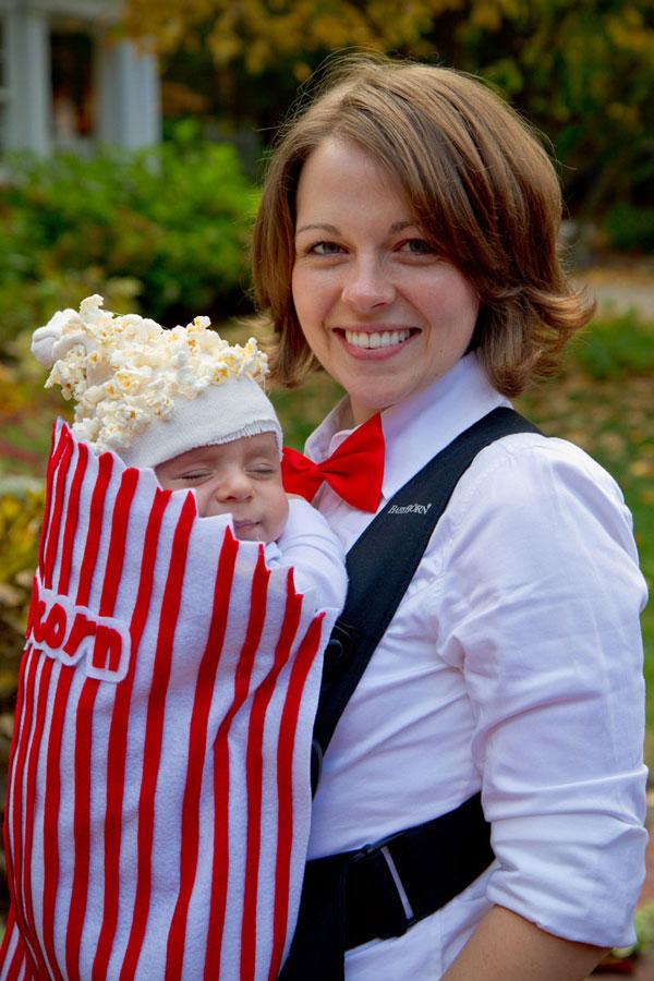 Come creare un costume da sacchetto di pop corn fai da te per bambini