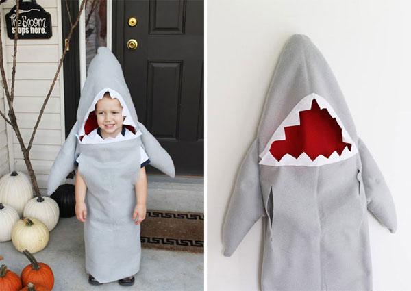 Come creare un costume da squalo fai da te per bambini