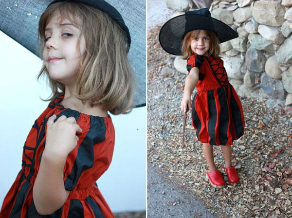 Come creare un costume da strega fai da te per bambine