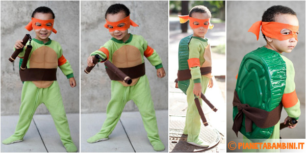 Costume Tartarughe Ninja Fai Da Te
