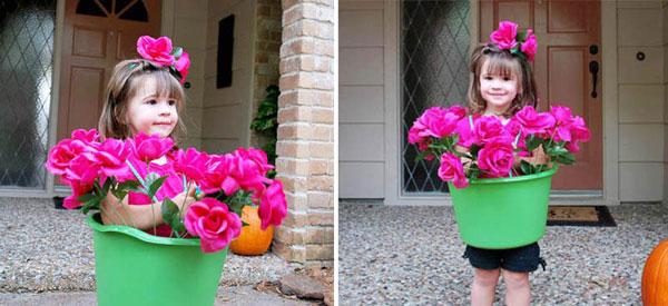 Come creare un costume da vaso da fiori fai da te per bambini