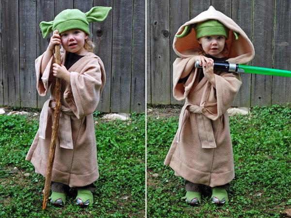 Come creare un costume di Yoda fai da te per bambini