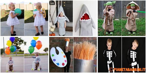 Costumi fai da te per bambini per Halloween e Carnevale