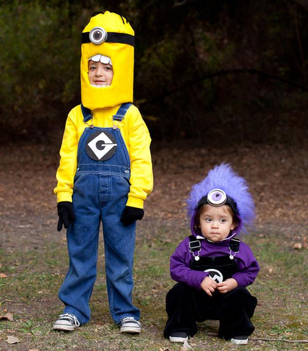 Costumi dei Minions fai da te per bambini