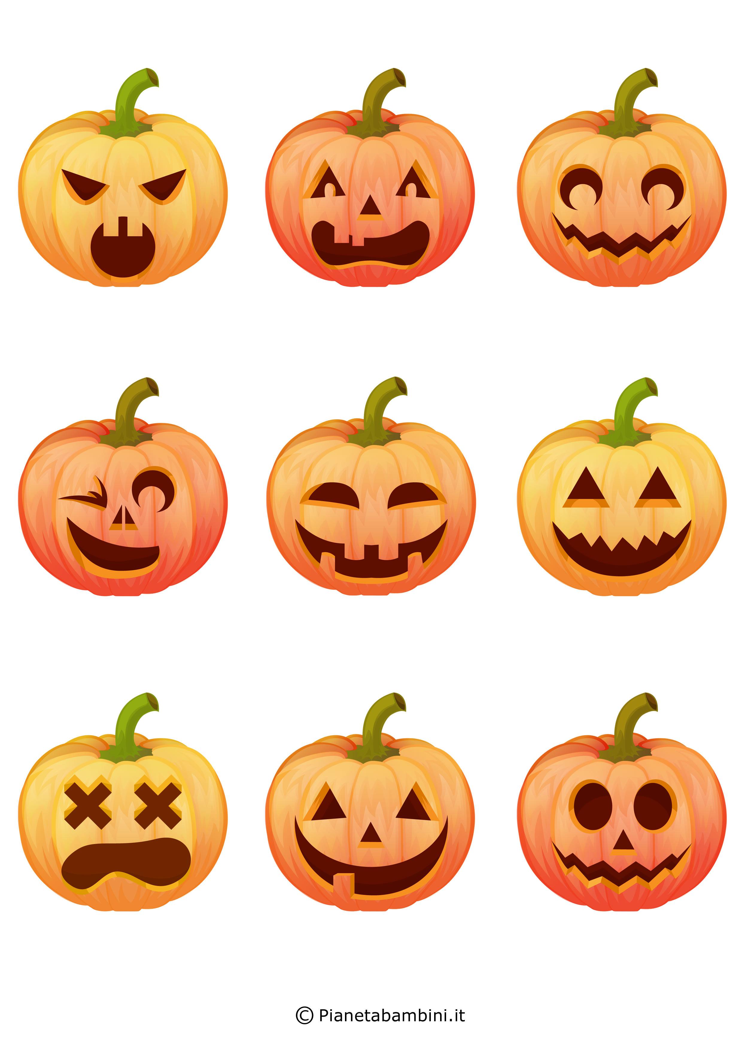 Festone-Halloween-Zucche-Volto-1