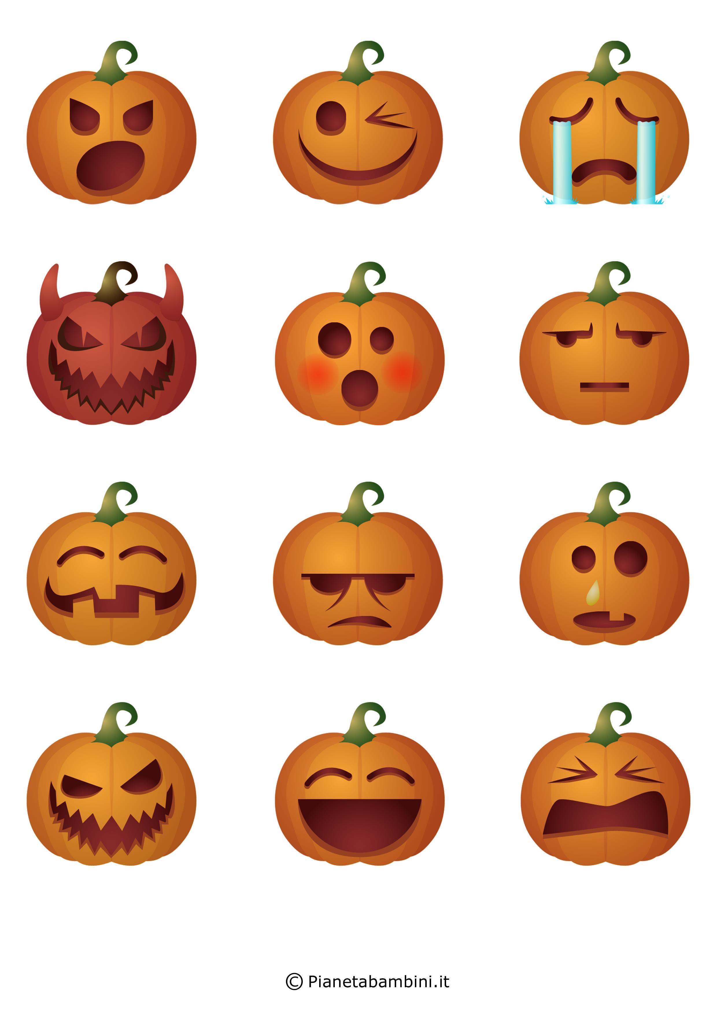 Festone-Halloween-Zucche-Volto-3
