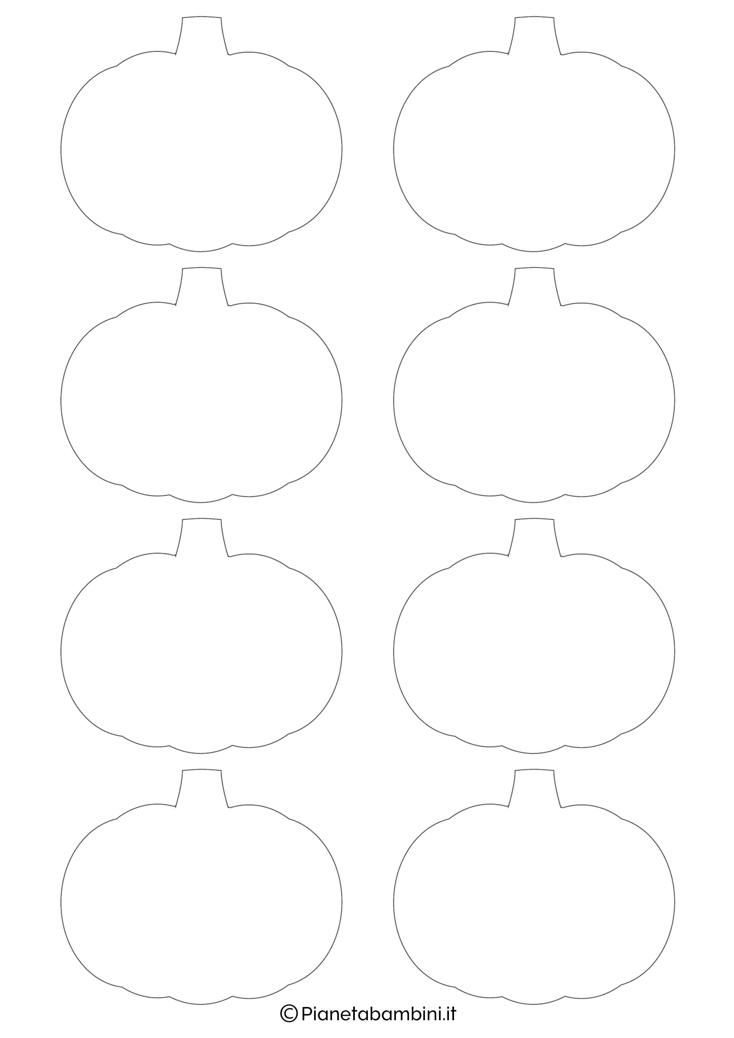 Zucche di halloween disegni colorati wroc awski for Disegni di zucche