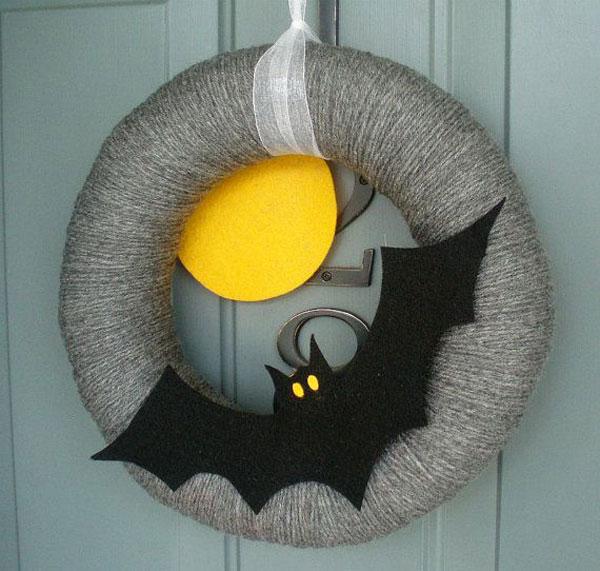 Idee per ghirlande in feltro per Halloween n.2
