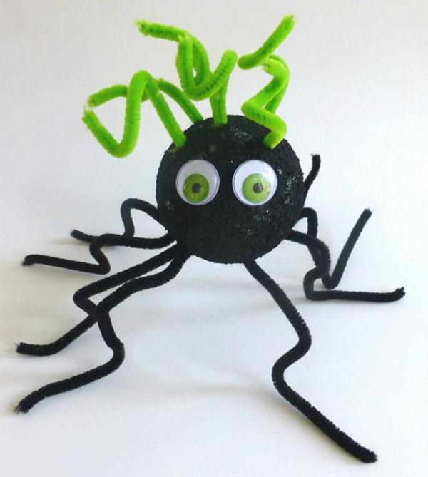 Modello di ragno di Halloween n.01