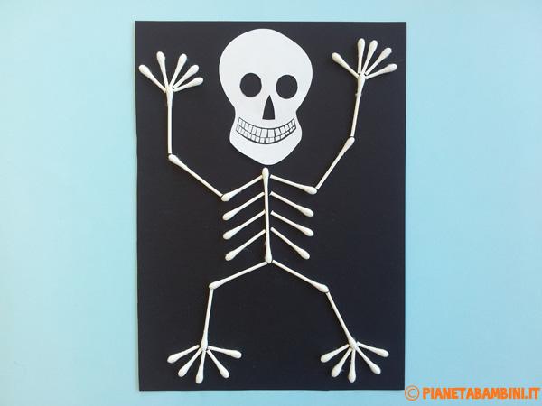 Versione di scheletro con cotton fioc n.01