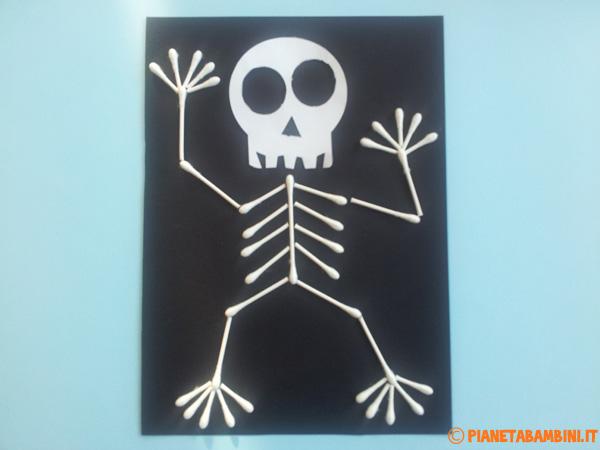 Versione di scheletro con cotton fioc n.02