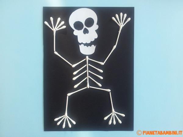 Versione di scheletro con cotton fioc n.03