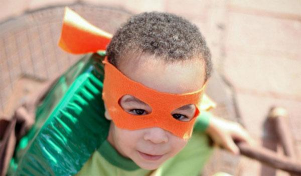 Come creare la maschera per il costume delle Tartarughe Ninja fai da te