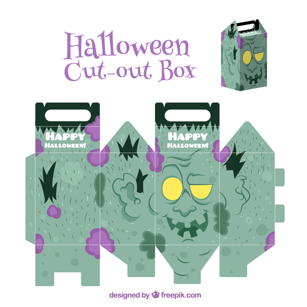 Scatolina di Halloween fai da te n.02