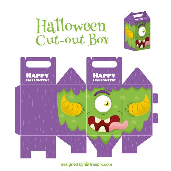 Scatolina di Halloween fai da te n.03