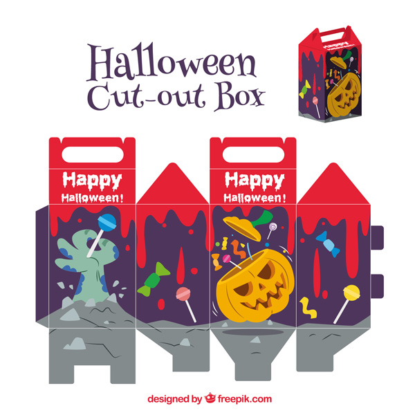 Scatolina di Halloween fai da te n.06