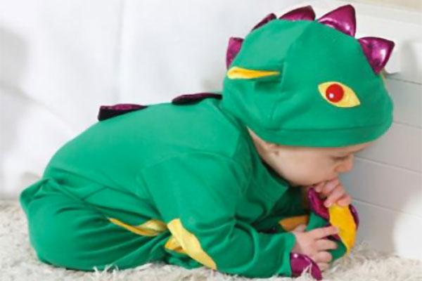 Costume di Halloween da drago per bambini