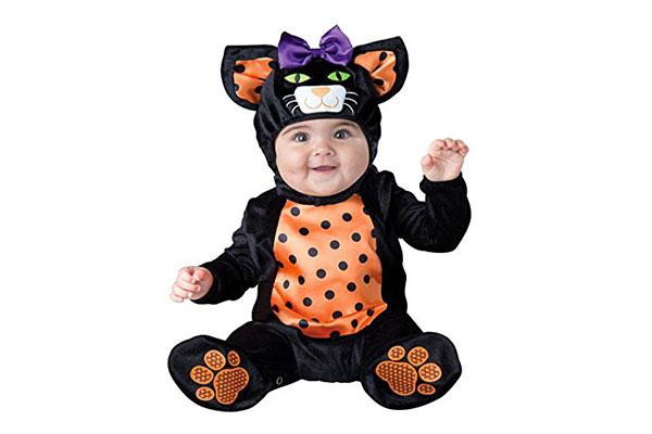 Costume di Halloween da gatto per neonati