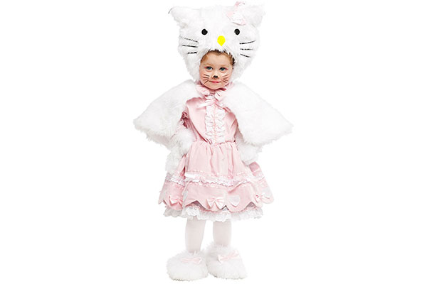 Costume di Halloween da Hello Kitty
