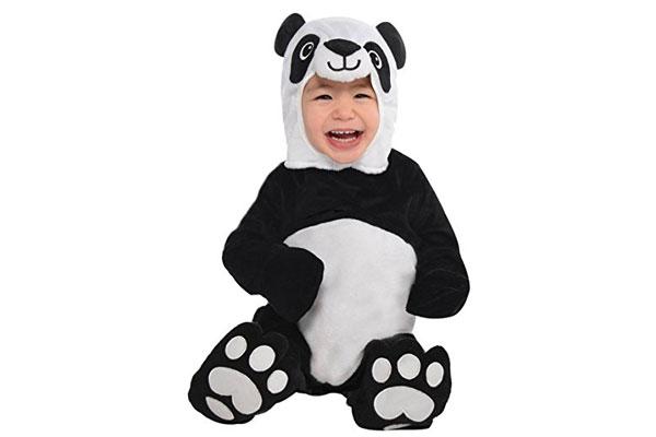 Costume da panda per Halloween per neonati