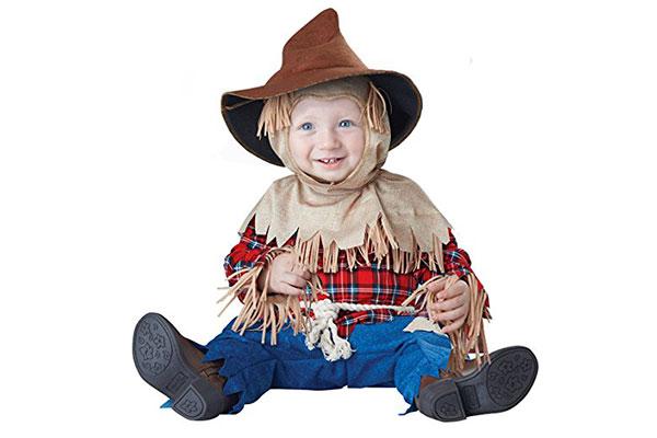 Vestito da spaventapasseri per Halloween per neonati