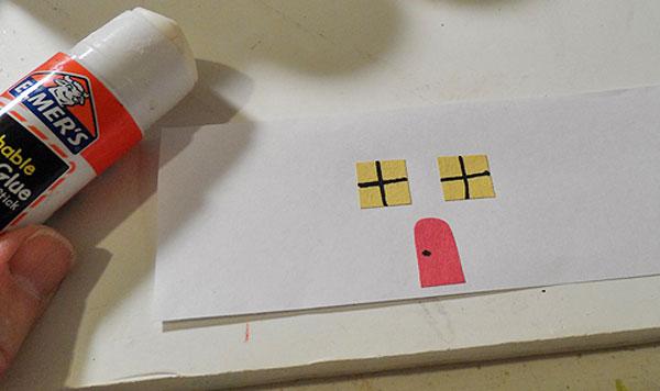 Come creare le porte e le finestre del villaggio natalizio di carta