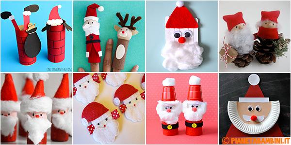 Idee per lavoretti dedicati a Babbo Natale