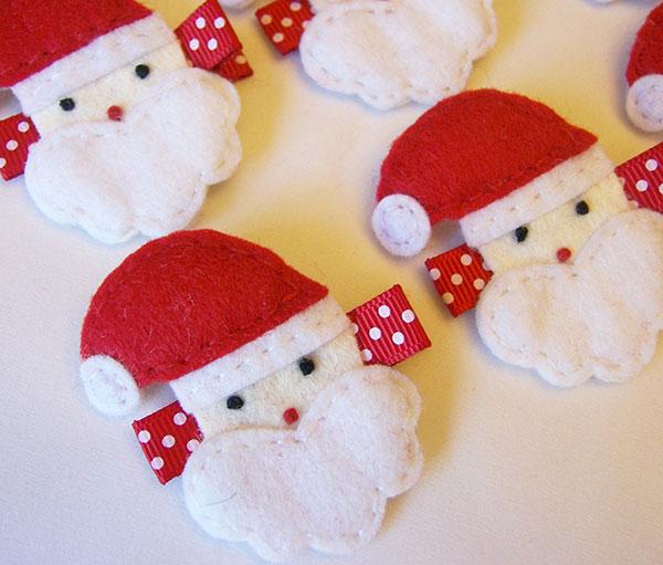 Come creare un Babbo Natale in feltro
