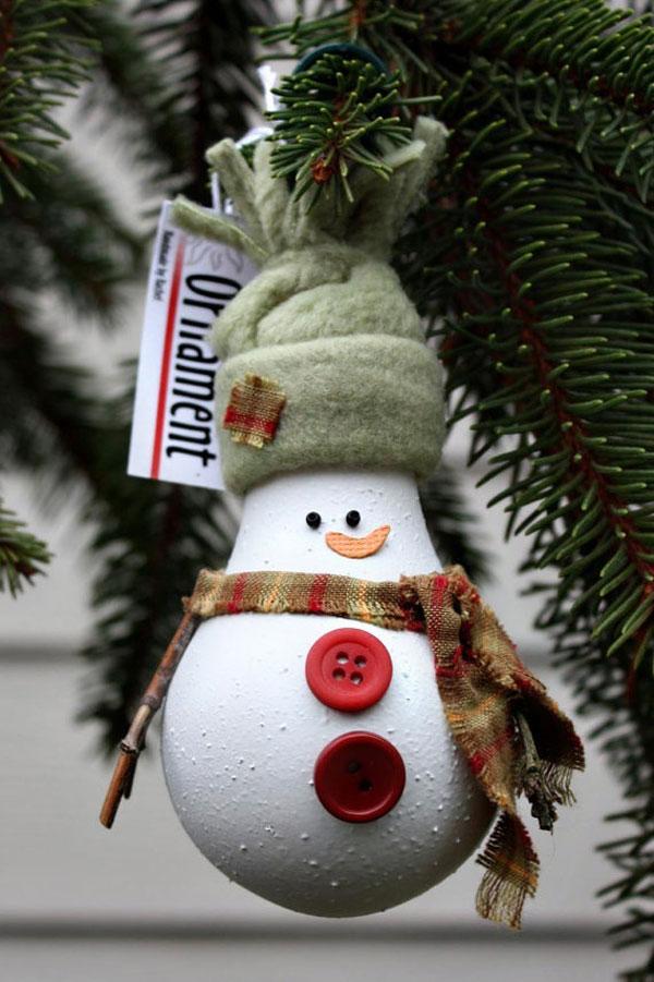 30 Idee per Lavoretti di Natale con Lampadine Usate  PianetaBambini.it