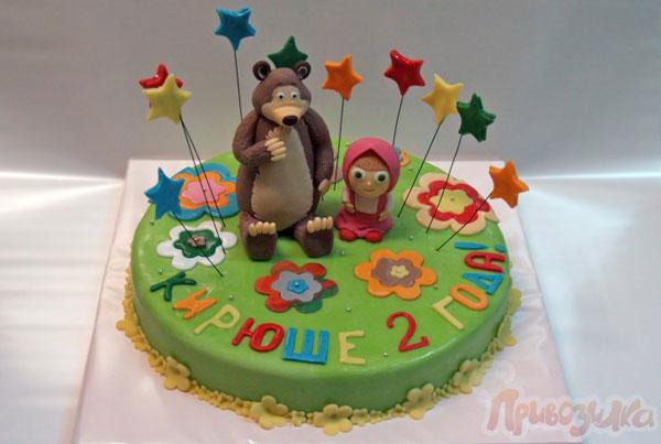 Immagine della torta di Masha e Orso n.20