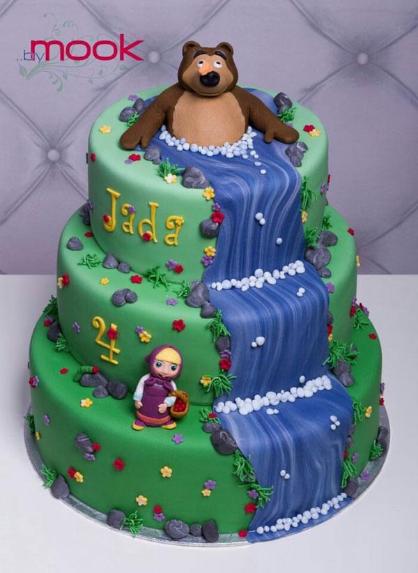 Immagine della torta di Masha e Orso n.24