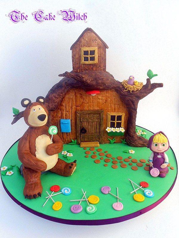 Immagine della torta di Masha e Orso n.72