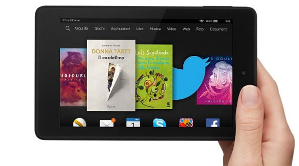 Tablet per bambini Amazon Fire HD 6