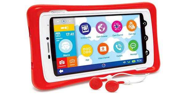 Tablet per bambini Clementoni Clempad Call