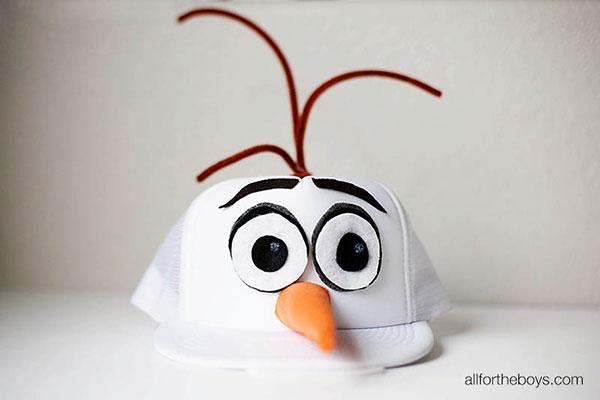 Come creare un bellissimo cappellino di Olaf