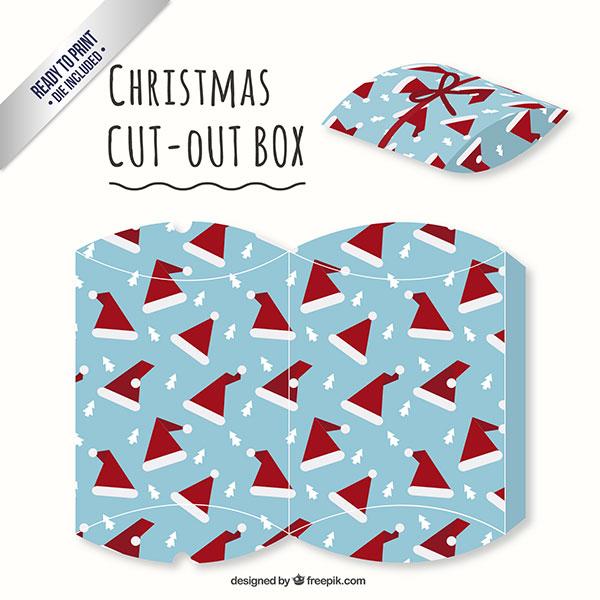 Scatolina regalo natalizia fai da te a forma di busta n.12