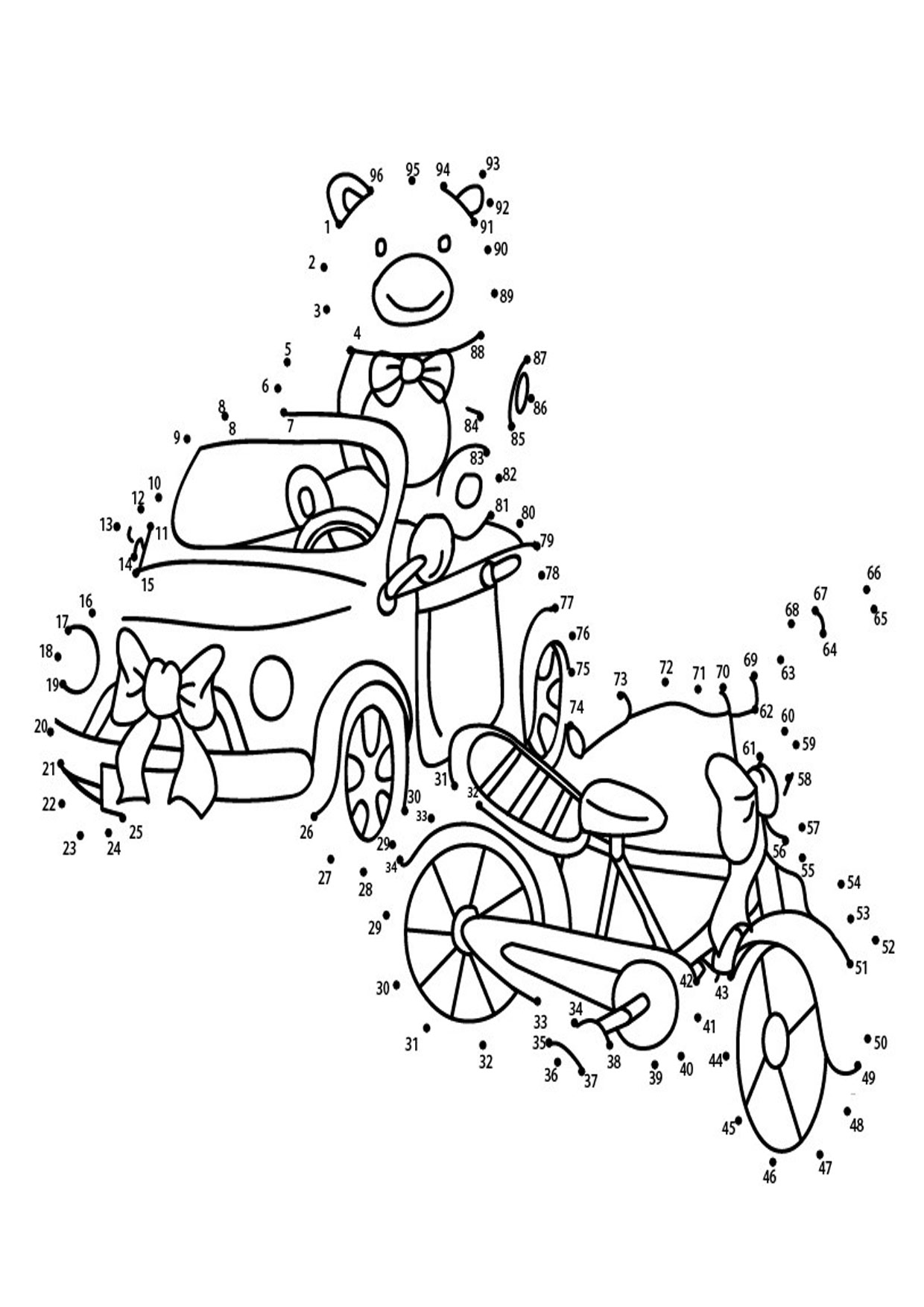 30 disegni unisci i puntini dedicati al natale per bambini