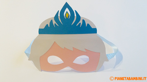 Decorazioni per la maschera di Elsa