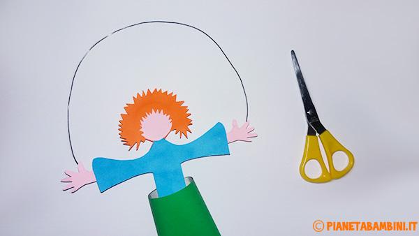 Come ritagliare i capelli del pagliaccio