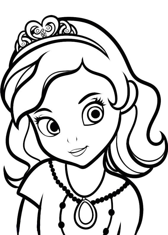 60 disegni di sofia la principessa da colorare for Immagini della pimpa da colorare