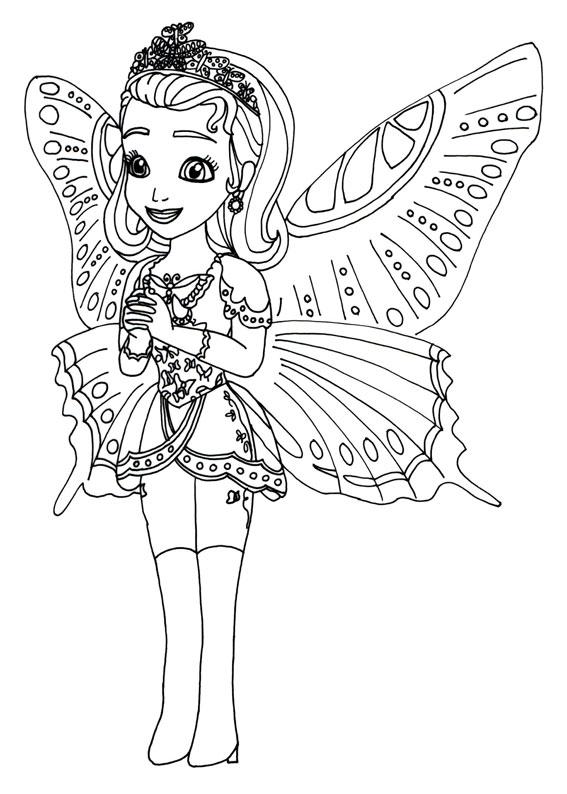 Stampare Principessa Sofia Da Colorare.60 Disegni Di Sofia La Principessa Da Colorare Pianetabambini It