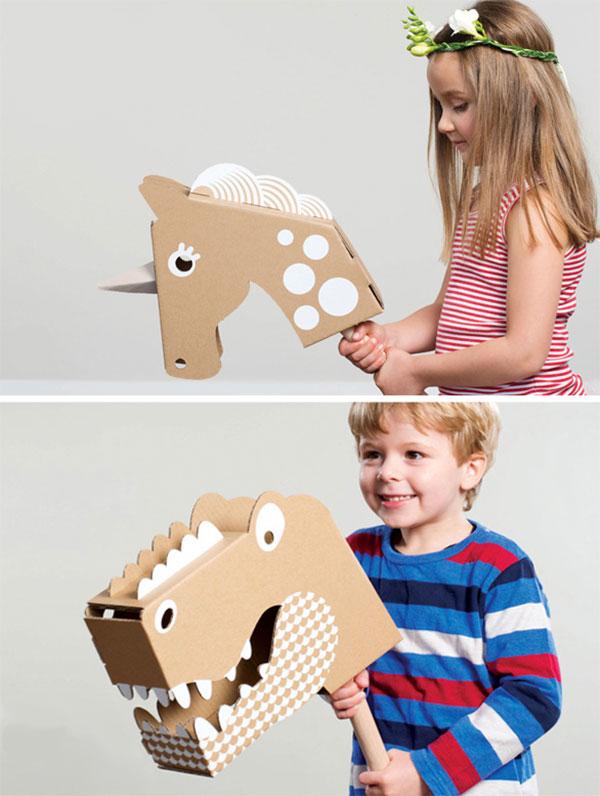 Come creare animali di cartone