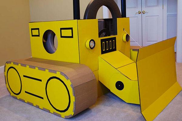 Castello Di Cartone Art Attack : 30 idee per lavoretti con scatole di cartone per bambini