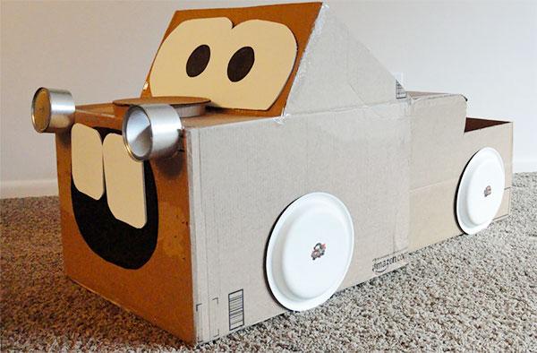 Come creare Cricchetto di Cars con il cartone